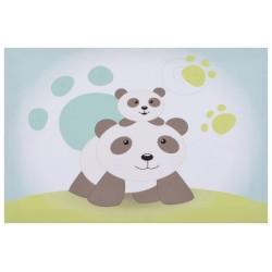 toile lumineuse scintillante pandi panda de domiva