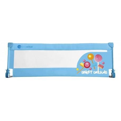 Barrière de lit rabattable sweet dreams bleue