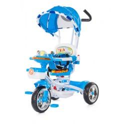 """Tricycle pour enfant évolutif """"friends"""" bleu avec capote"""