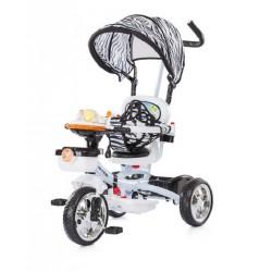 """Tricycle pour enfant évolutif """"friends"""" vert avec capote"""