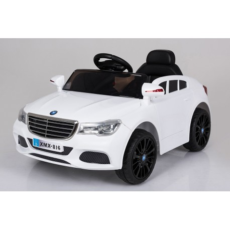 voiture électrique berline Style C Class 12 V blanche - voiture électrique pour enfant