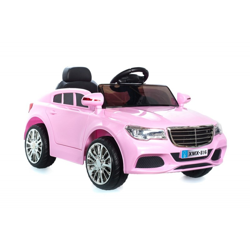voiture lectrique berline style c class 12 v rose voitures lectriques pour enfant. Black Bedroom Furniture Sets. Home Design Ideas