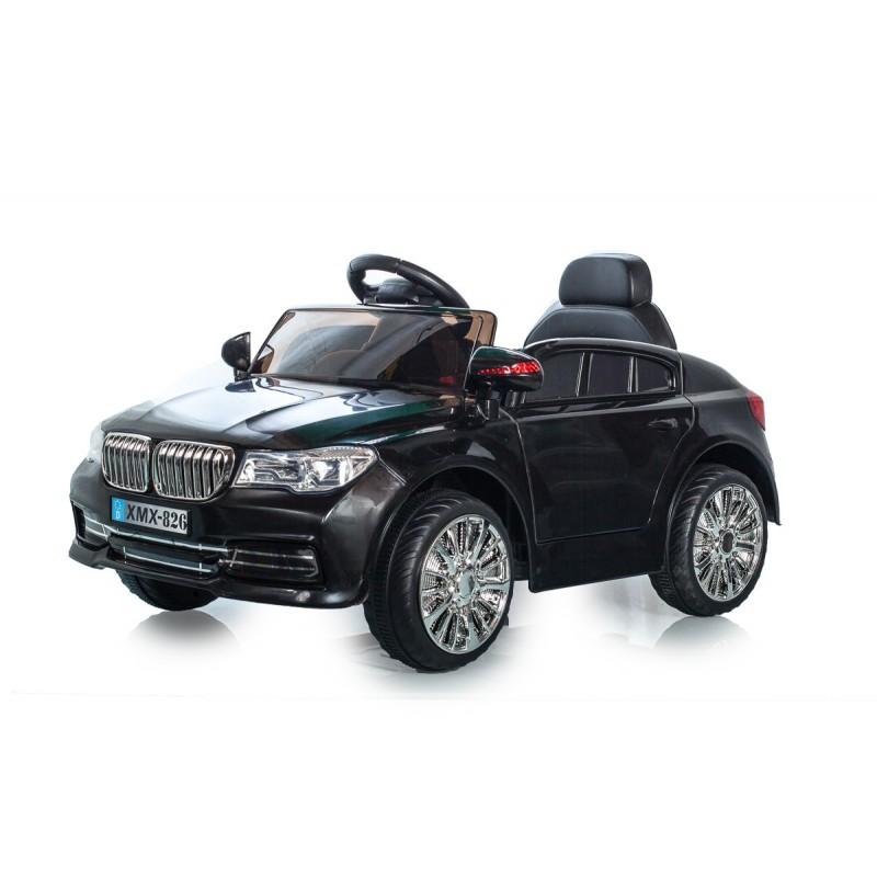 voiture lectrique berline style x5 noire voitures lectriques pour enfant. Black Bedroom Furniture Sets. Home Design Ideas