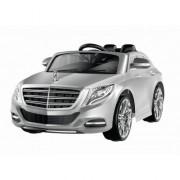 Voiture électrique pour enfant Mercedes Benz S600 grise, peinture métallique