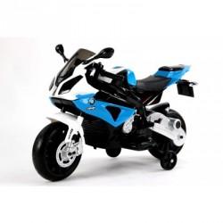 Moto électrique BMW S1000 RR 12 V bleu - moto électrique pour enfant