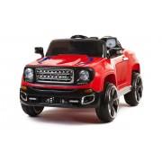 4X4 jeep électrique 2 places 12V rouge portes ouvrantes