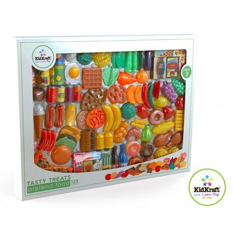 125 gourmandises en plastique pour cuisine