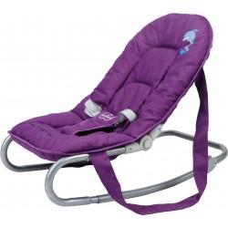 transat bébé dauphin violet