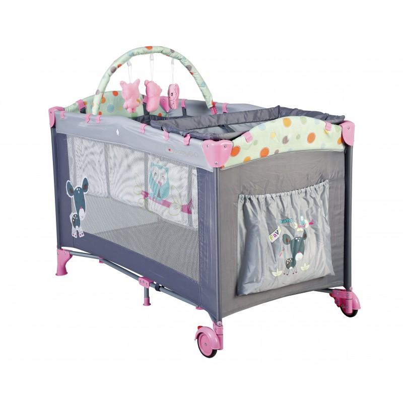 lit parapluie rose lit pliant pour enfant. Black Bedroom Furniture Sets. Home Design Ideas