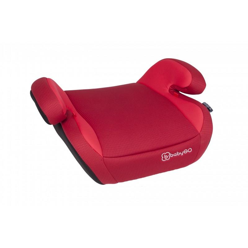 r hausseur club sit rouge si ge auto groupe 3. Black Bedroom Furniture Sets. Home Design Ideas