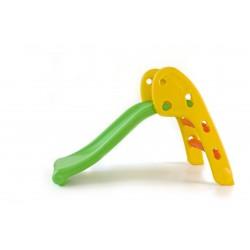 Toboggan slide vert et jaune babygo