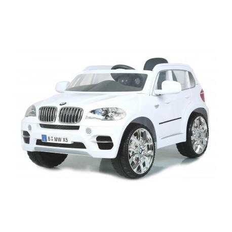 voiture électrique pour enfant BMW X5 blanche