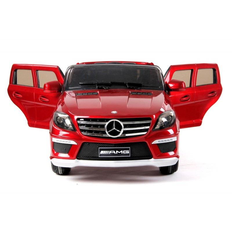voiture lectrique pour enfant mercedes ml63 amg rouge. Black Bedroom Furniture Sets. Home Design Ideas