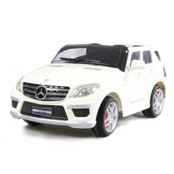 Voiture électrique pour enfant Mercedes Benz ML63 AMG blanc