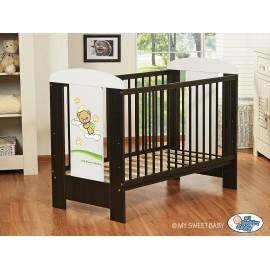 Lit bébé bonne nuit vert + matelas
