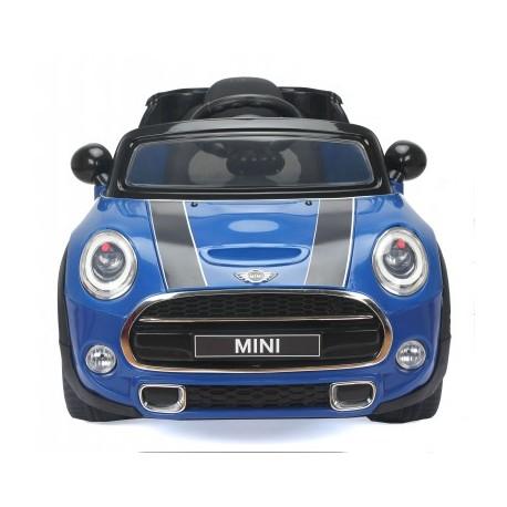 Voiture électrique pour enfant Mini Cooper S 12V bleu