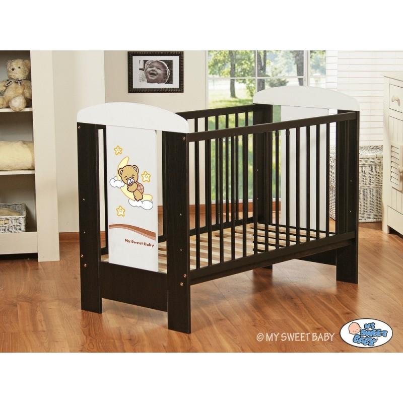 lit b b bonne nuit marron lit pour enfant avec matelas. Black Bedroom Furniture Sets. Home Design Ideas