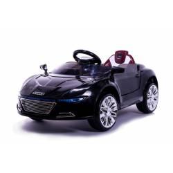 Voiture électrique Style R8 sport 12 V noire - voiture électrique pour enfant