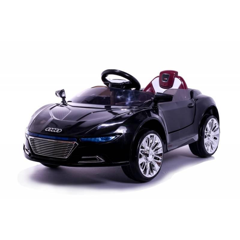 voiture lectrique style r8 sport 12 v noire voitures lectriques pour enfant. Black Bedroom Furniture Sets. Home Design Ideas