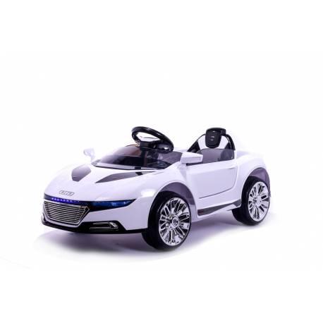 Berline Style A8 12 V noire - voiture électrique pour enfant