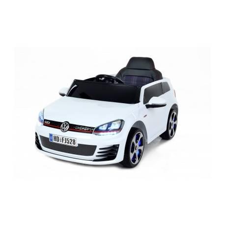 voiture lectrique pour enfant golf gti blanche. Black Bedroom Furniture Sets. Home Design Ideas