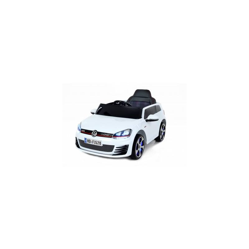 voiture lectrique pour enfant golf gti blanche. Black Bedroom Furniture Sets. Home Design Ideas