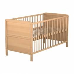lit b b en bois et tiroir de lit. Black Bedroom Furniture Sets. Home Design Ideas