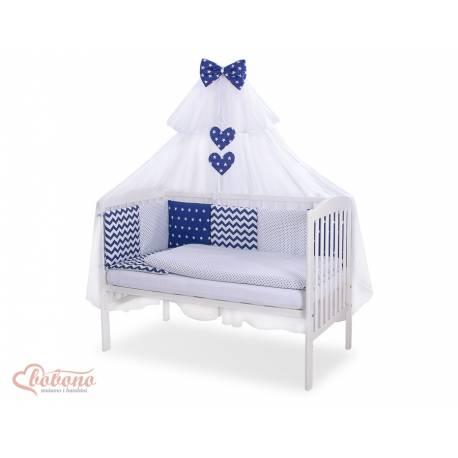 Parure de lit bébé complète Color mix Set 17