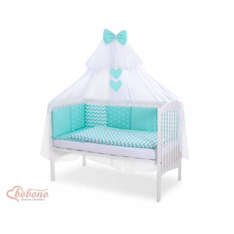 Parure de lit bébé complète Color mix Set 21