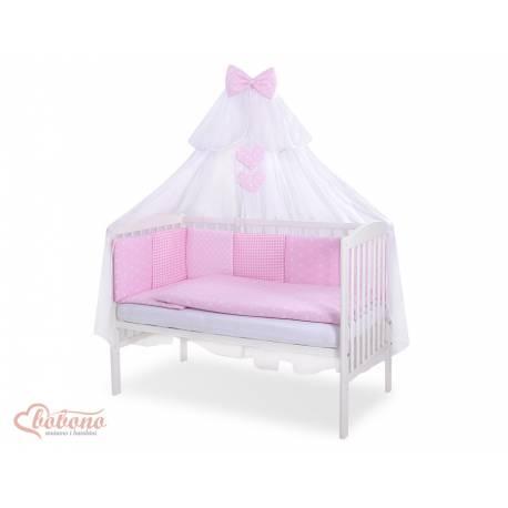 Parure de lit bébé complète Color mix Set 22