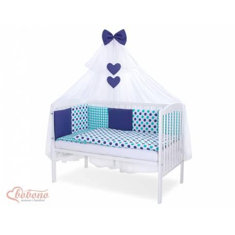 Parure de lit bébé complète Color mix Set 23