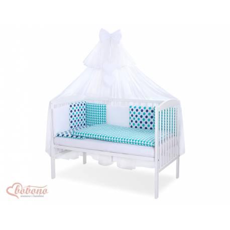 Parure de lit bébé complète Color mix Set 24