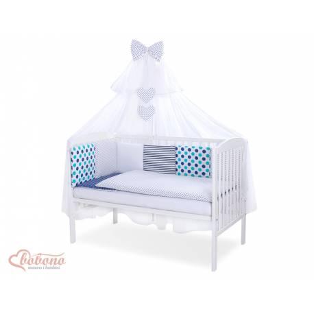 Parure de lit bébé complète Color mix Set 26