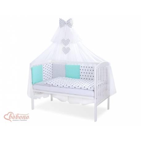 Parure de lit bébé complète Color mix Set 33