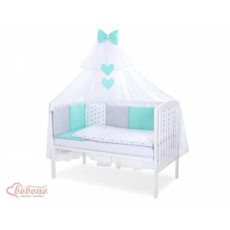 Parure de lit bébé complète Color mix Set 34