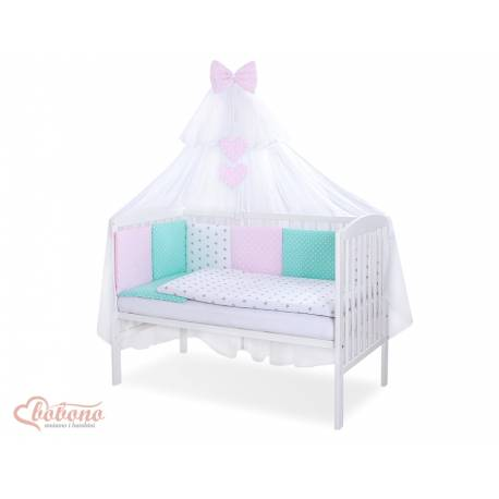 Parure de lit bébé complète Color mix Set 35