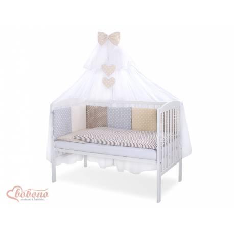 Parure de lit bébé complète Color mix Set 38