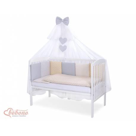 Parure de lit bébé complète Color mix Set 39