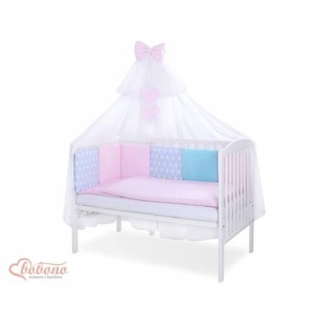 Parure de lit bébé complète Color mix Set 40