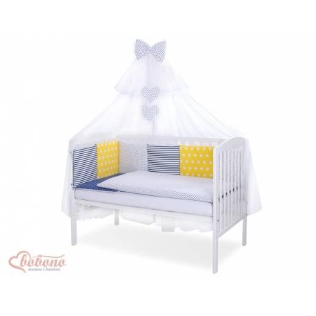 Parure de lit bébé complète Color mix Set 43