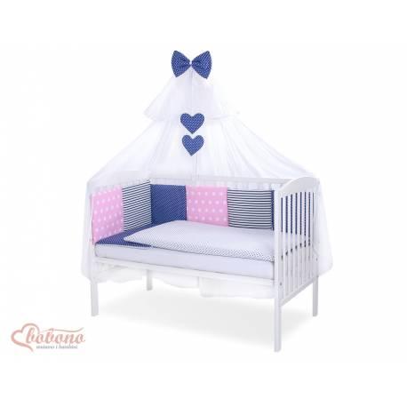 Parure de lit bébé complète Color mix Set 45