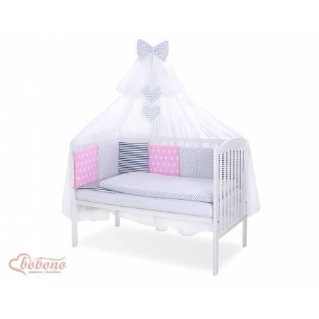 Parure de lit bébé complète Color mix Set 46