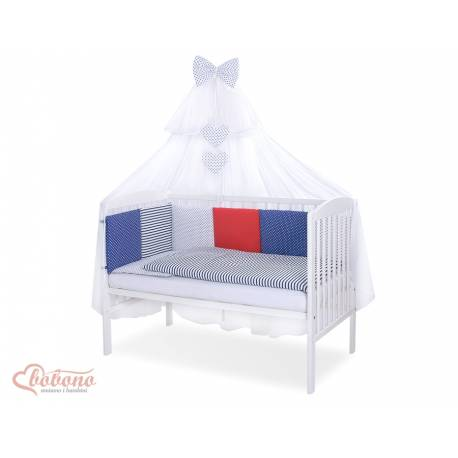 Parure de lit bébé complète Color mix Set 48