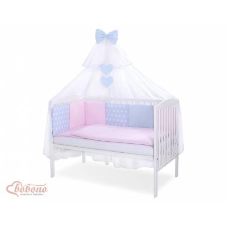 Parure de lit bébé complète Color mix Set 52