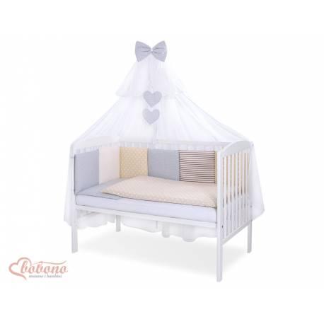 Parure de lit bébé complète Color mix Set 53