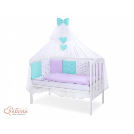 Parure de lit bébé complète Color mix Set 55
