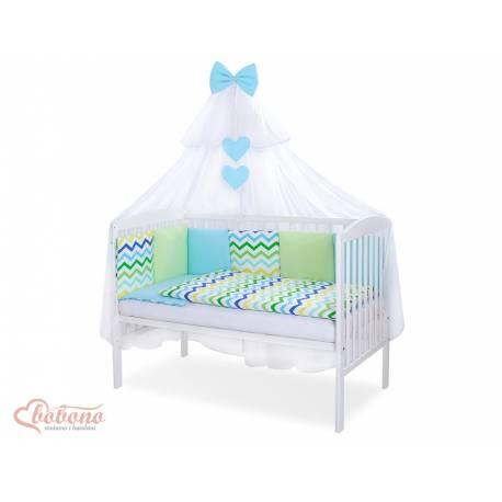 Parure de lit bébé complète Color mix Set 60