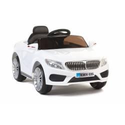 Berline Style 535 12V blanche - voiture électrique pour enfant