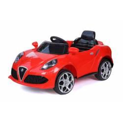 Voiture électrique style 4C rouge - voiture électrique pour enfant