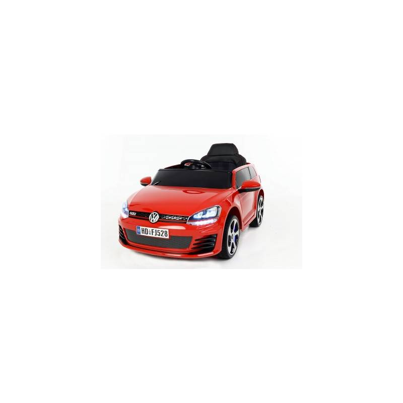 voiture lectrique pour enfant golf gti rouge. Black Bedroom Furniture Sets. Home Design Ideas